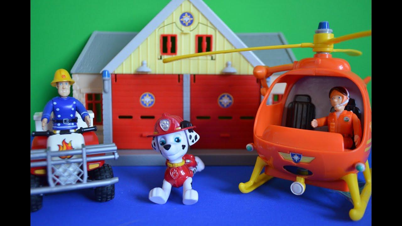 Fireman sam episode paw patrol marshal new quad bike tom thomas