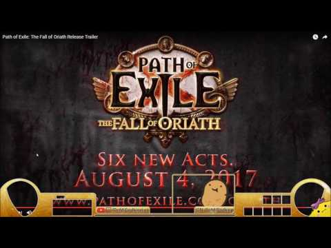 PATH OF EXILE 3.0 - FALL OF ORIATH RELEASE DATE!!! TRAILER REACTION/ANALYSIS - Demi