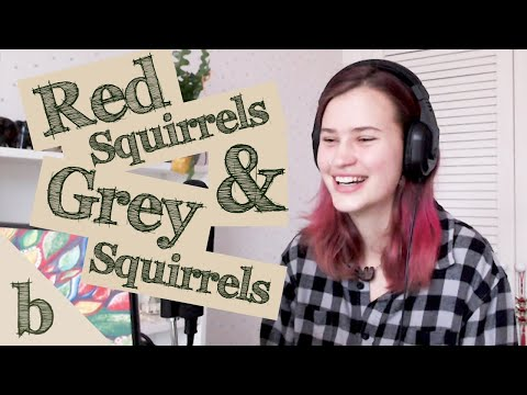 #13 Red Squirrels and Grey Squirrels   The Biome Podcast