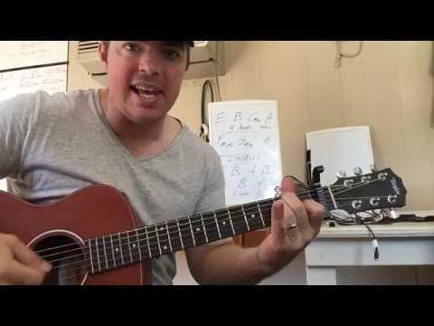 Record Year | Eric Church | Beginner Guitar Lesson
