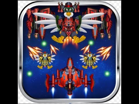 Space Attack: Chicken shooter Android game level 16