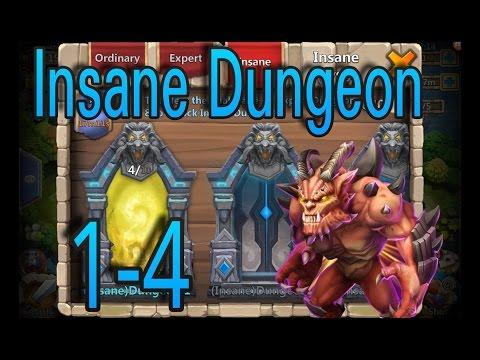 Insane Dungeon 1-4