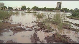 نهر النيل يقترب من الفيضان