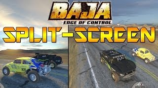 Baja: Edge Of Control Split-Screen - Tumbleweed Football, Unfare Drag Race & More ft Andy