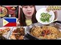 ASMR Mukbang|필리핀 여행가면 꼭 사온다는 인기 라면!! PANCIT CANTON 먹방~리얼사운드