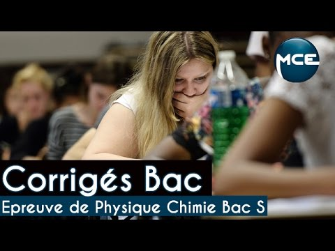 Bac 2015 : Physique Chimie - Exercice 1