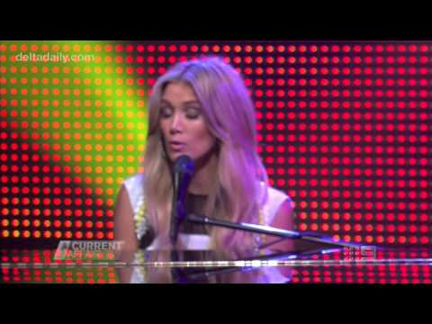 Delta Goodrem - 'Wish You Were Here' live on A Current Affair