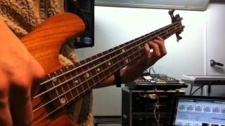LICKING STICK-LICKING STICK(LIVE) - JAMES BROWN -short ver.- (Bass cover)