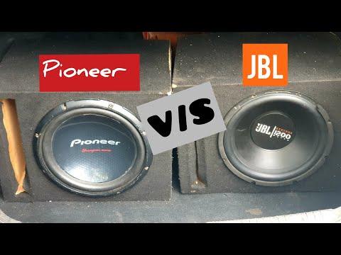 JBL V/S PIONEER SUBWOOFER