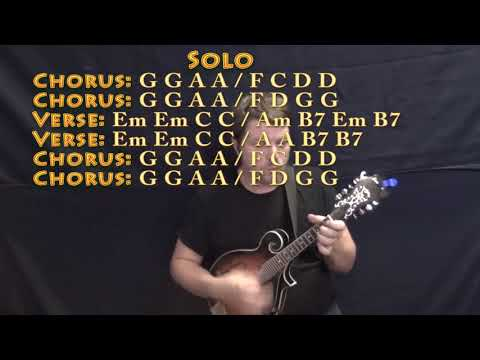 East Bound And Down Jerry Reed Mandolin Cover Lesson In G With