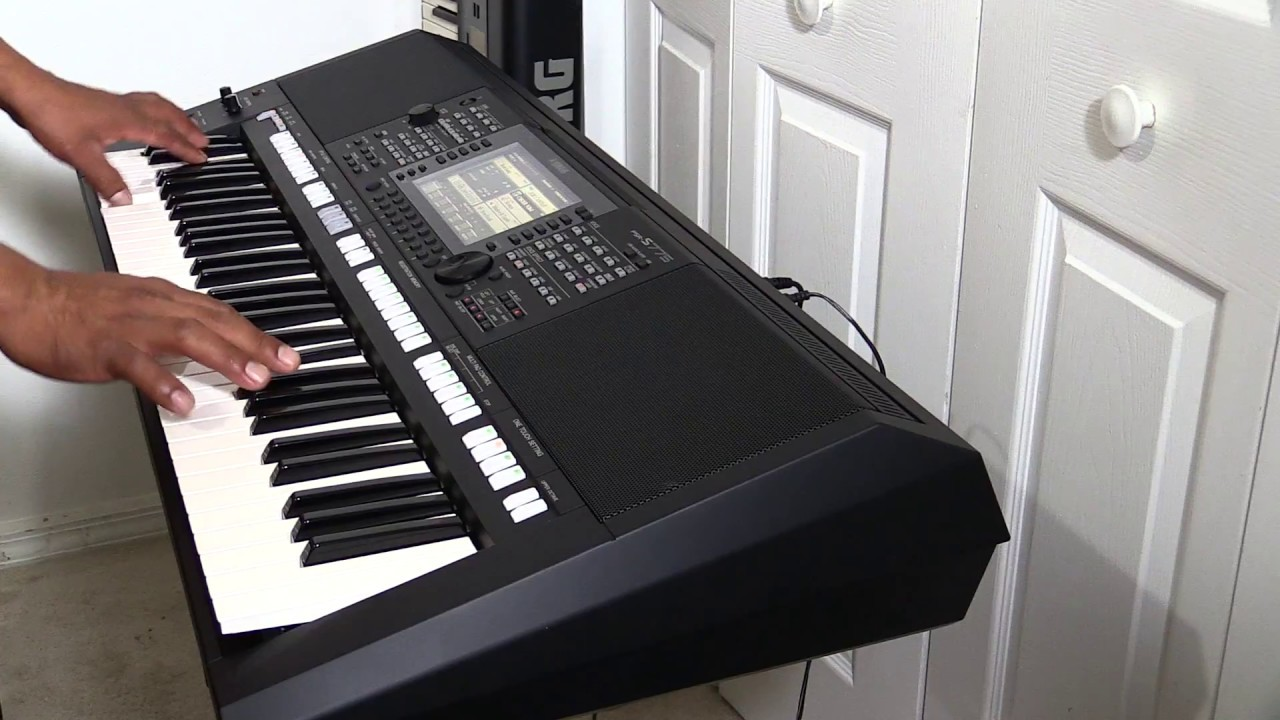 vendido yamaha psr s775 en venta con ritmo y sonidos. Black Bedroom Furniture Sets. Home Design Ideas