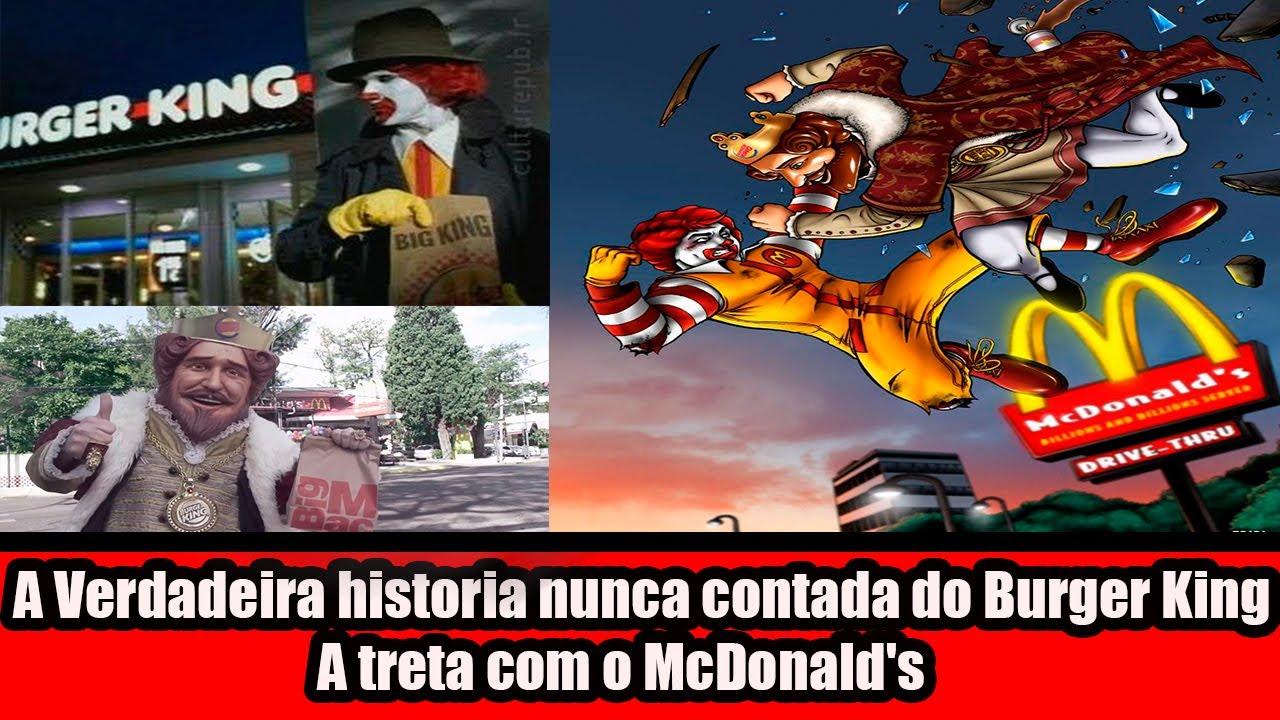 A historia do Burger King nunca contada! A eterna treta com o McDonald's