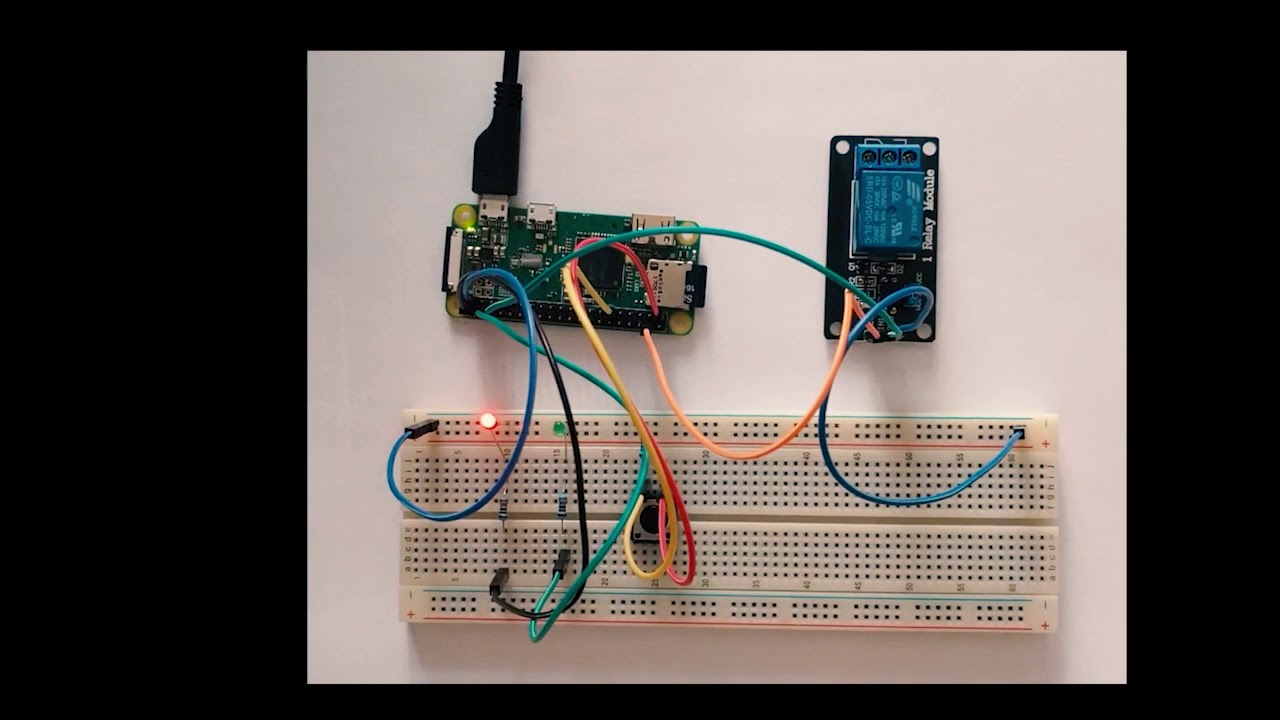 How to implement door unlocking system with Raspberry Pi