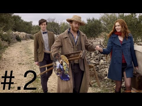 """(Fresh Reaction to) Doctor Who season 5 episode 10 """"Vincent and the doctor"""" part 2 - 동영상"""