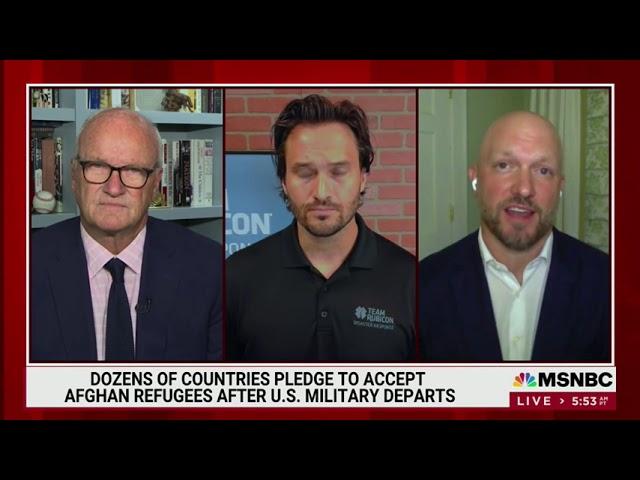 MSNBC - MORNING JOE: AUGUST 31, 2021 - AFGHANISTAN EVACUATION COMPLETE