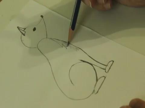Как нарисовать лисичку    Учимся рисовать  Лиса