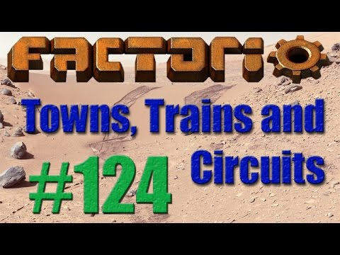 Factorio - Towns, Trains and Circuits (CCT) - 124 - Solar Energy Level 9001