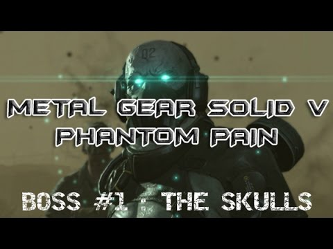 Metal gear solid V Phantom pain BOSS #1 [funny moments]