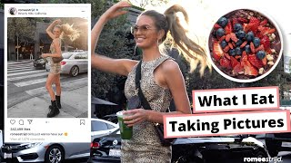 What I Eat in LA + How I Take and Edit My Pictures | Romee Strijd VLOG