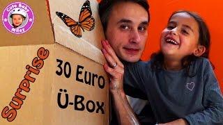 30 Euro Überraschungsbox für Miley - Ü-Box Surpise - Kanal für Kinder
