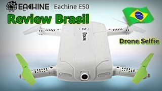 Eachine E50 - Drone de Bolso - Self Drone - Drone Selfie - Drone Pocket - FVM