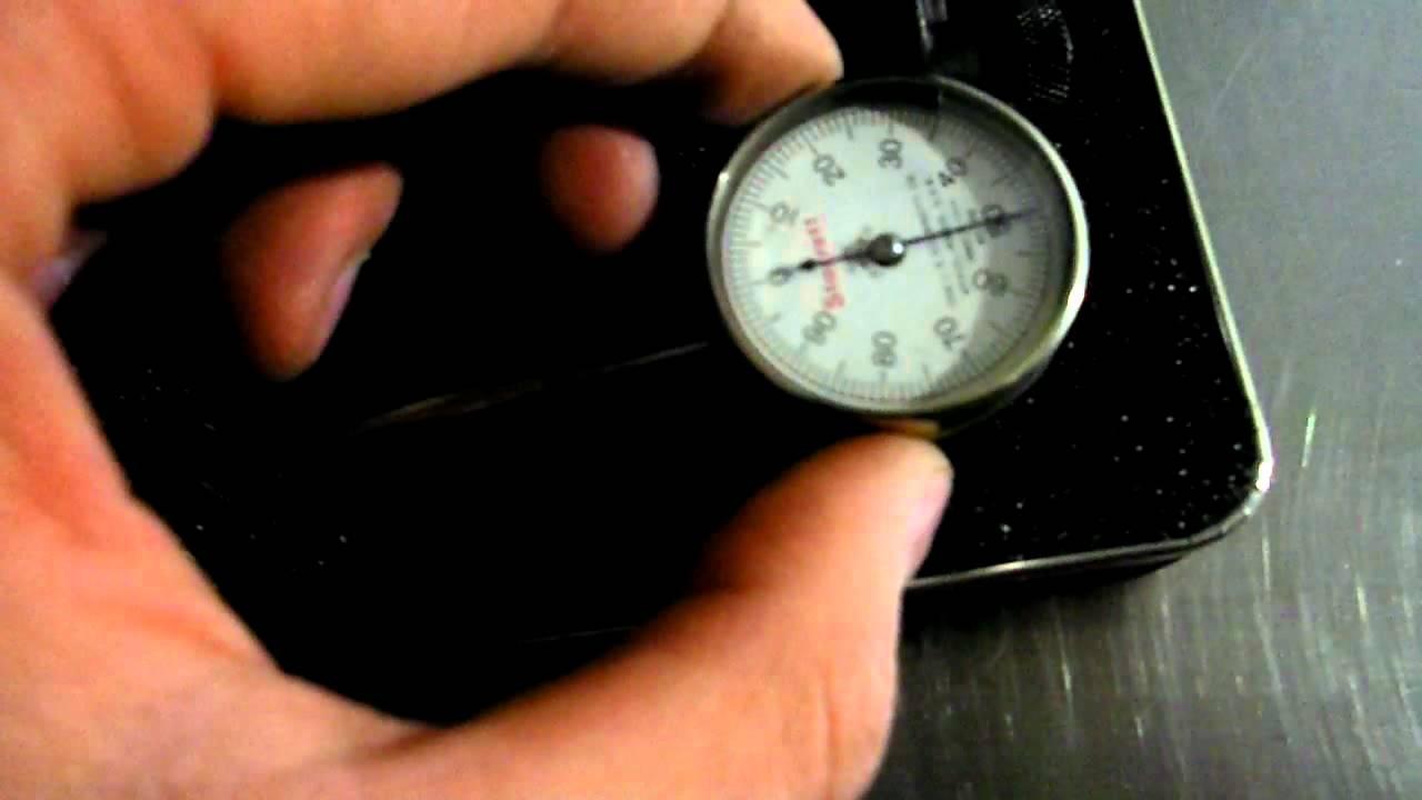 starrett 196a1z dial test indicator [ 1280 x 720 Pixel ]