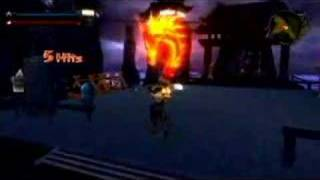 GC 2007 Dragon Blade: Wrath of Fire Gameplay #1