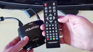 Conversor Digital Aquário DTV 5000 Review 4K