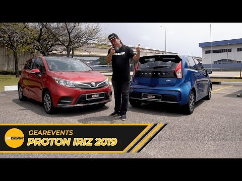 Proton Iriz facelift 2019 - Gearevents EP15