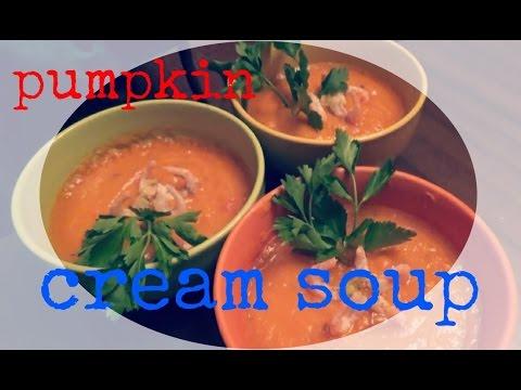 Приготовить  готовим вместе  крем суп из тыквы  простой рецепт  пп онлайн видео