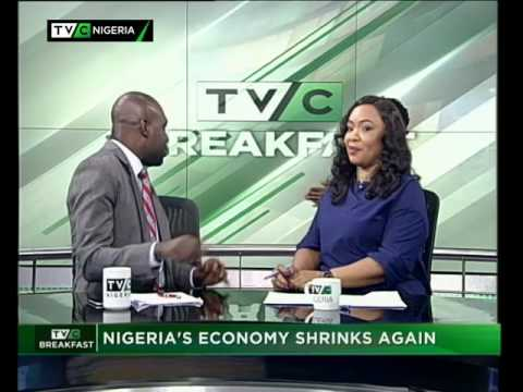 TVC Breakfast 25th May 2017 | Nigeria's Economy shrinks Again