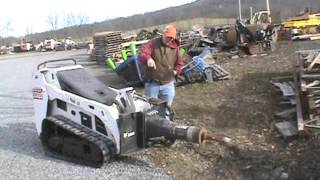 2012 Bobcat HB680 Mini Skid Steer Hydraulic Hammer Attachment For MT50 MT52 MT55 463 S70 For Sale
