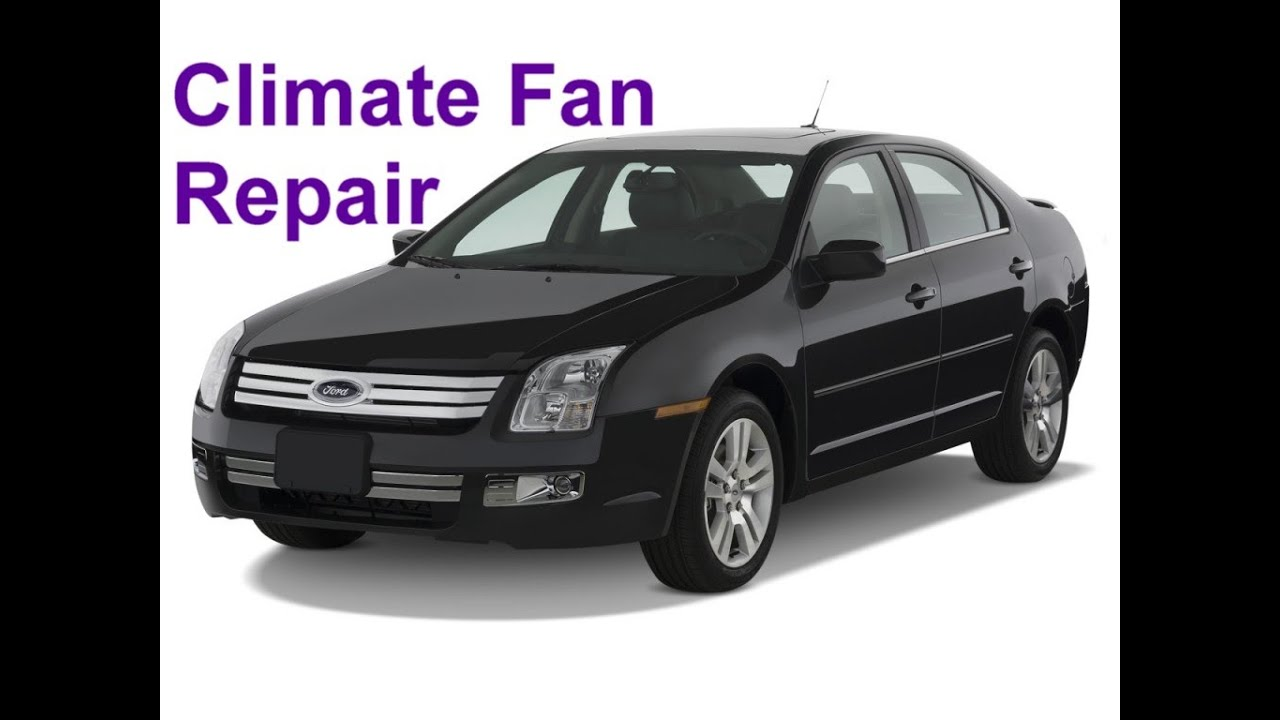 small resolution of ford climate fan not working bad fan resistor auto repair series