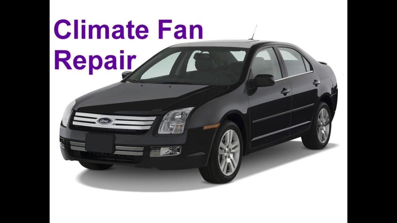 Cabin Wiring Diagram Ford Climate Fan Not Working Bad Fan Resistor Auto