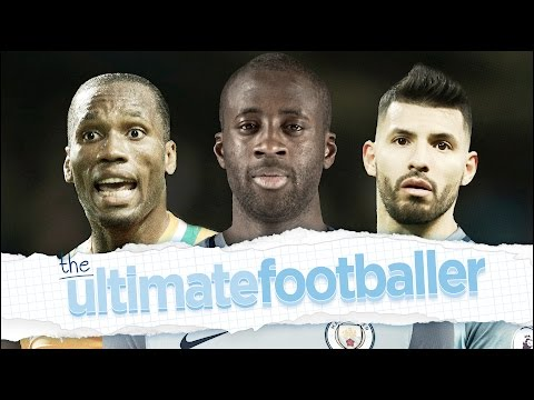 YAYA TOURE'S ULTIMATE FOOTBALLER! | Messi, Drogba & Aguero