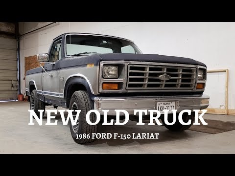 New 1986 Ford F-150 project