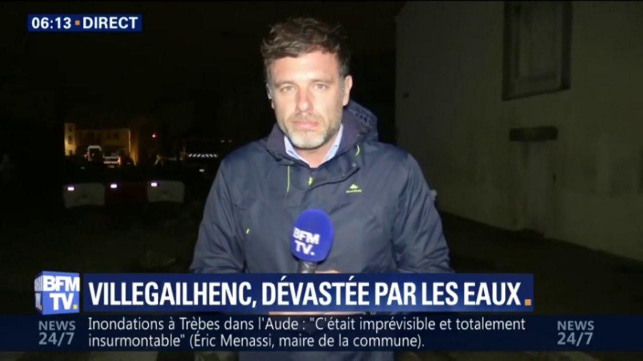 4afae5727d2e81 Inondations dans l'Aude: à Villegailhenc le bilan humain pourrait encore  s'alourdir | QuozTube