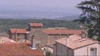 Pélussin, Balcon de la vallée du rhône (Rhône-Alpes)