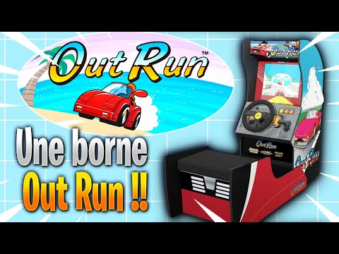 arcade 1 up sort une borne Out Run  aux USA et Canada from Alex Express