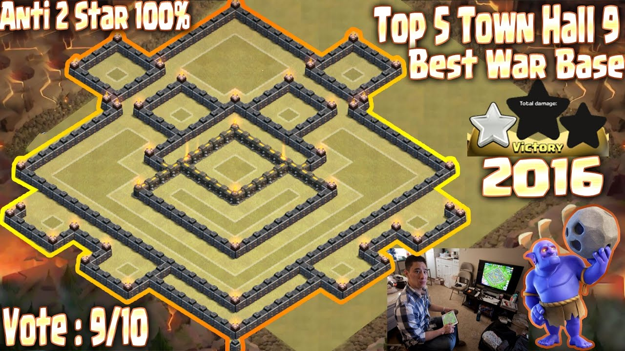 Top 5 Th 9 War Base 9