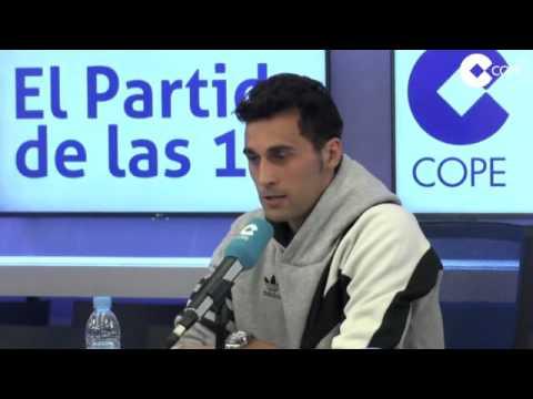 Álvaro Arbeloa, en 'El Partido de las 12 COPE'