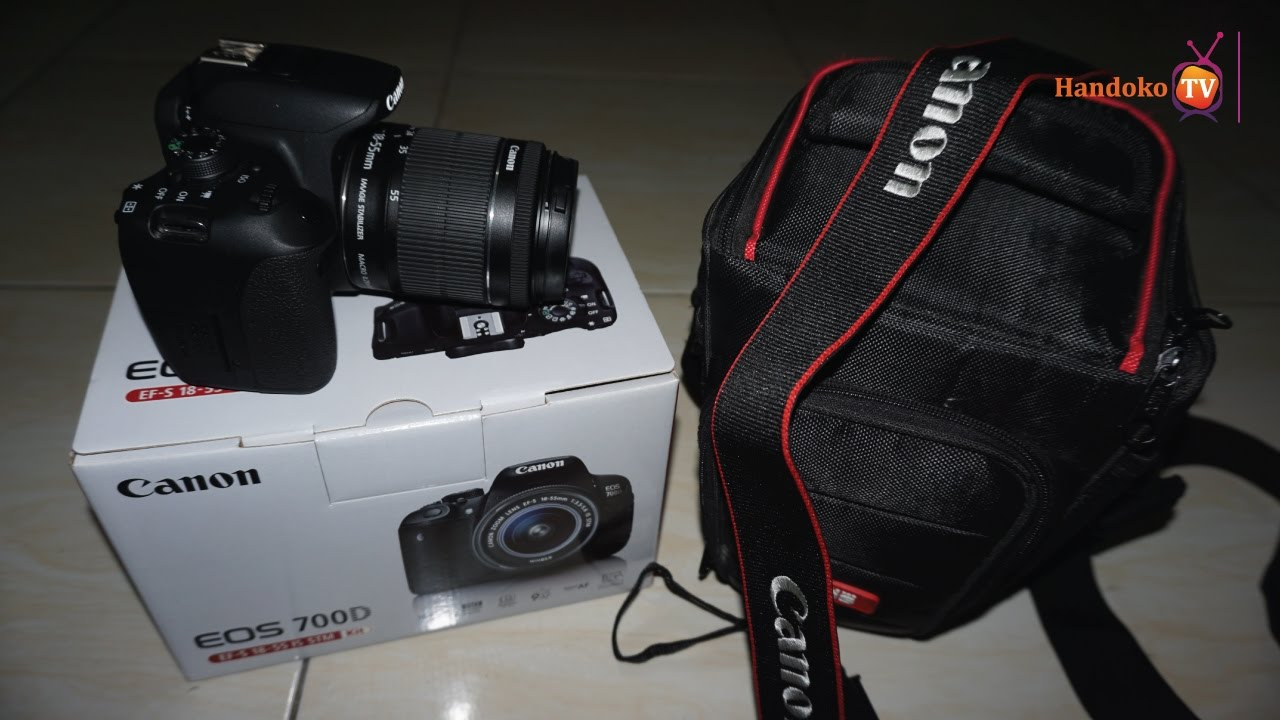 Unboxing Camera Canon Terbaru Saya Kamera Buat Video Vlog Dslr