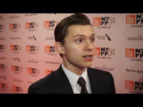 "Tom Holland - ""The Lost City of Z"" Red Carpet NYFF (2016)"
