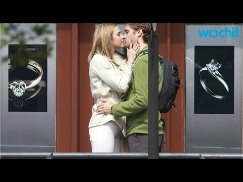 Arielle Kebbel and Luke Grimes Spotted Kissing on 'Fifty Shades Freed' Set