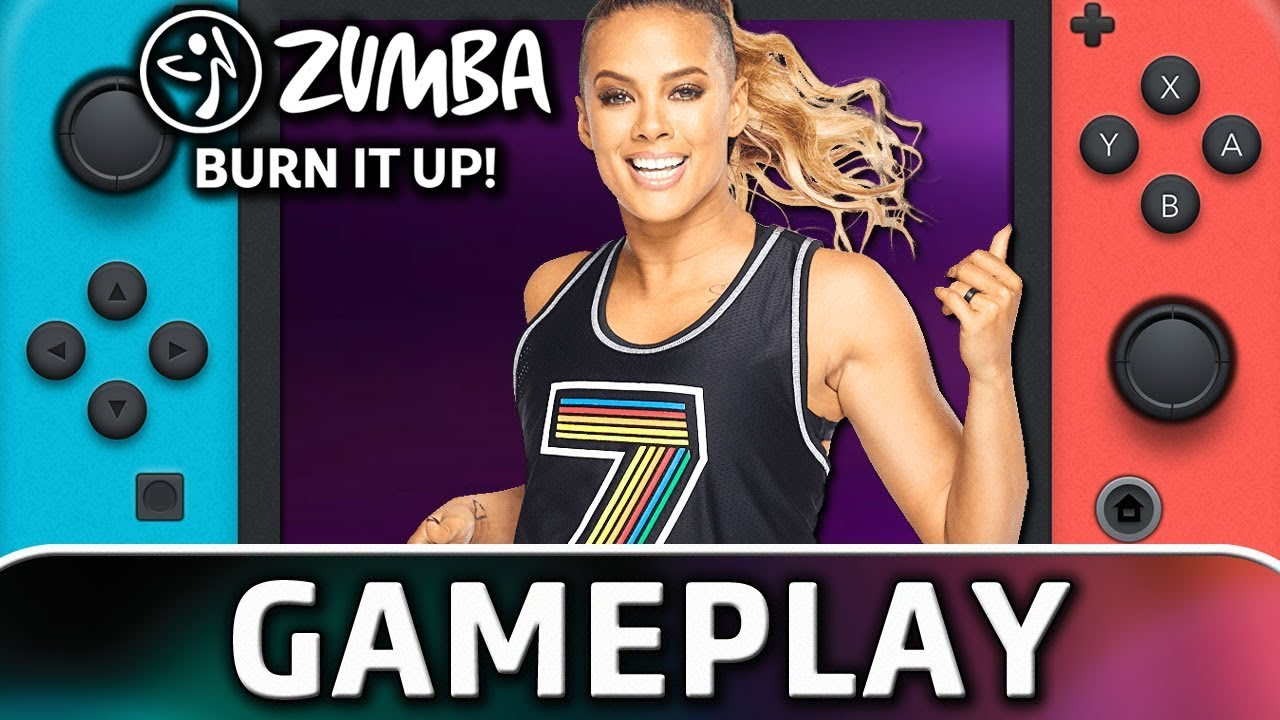 Zumba Burn It Up! | 5 Minutes of Gameplay on Nintendo Switch