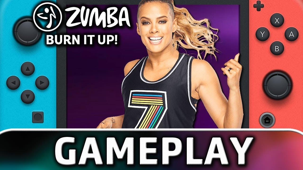 Zumba Burn It Up! | 5 Minutes of Gameplay on Nintendo Switch