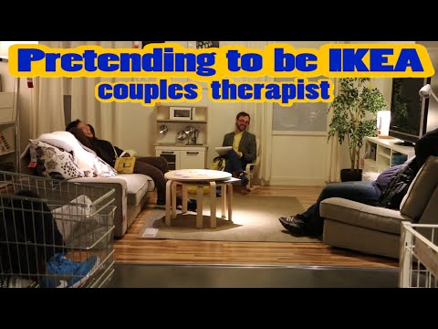 A Comedian Pretended to Be a Couples Therapist at IKEA