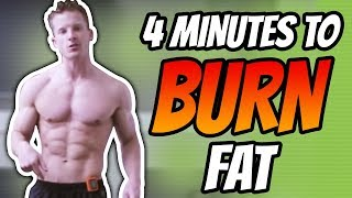 4 Minute HIIT Tabata Workout (QUICK FULL BODY FAT BURNING WORKOUT)