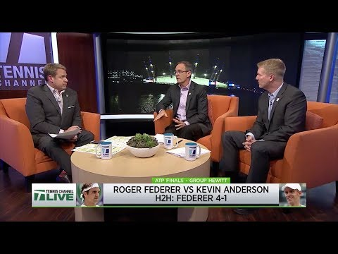 Tennis Channel Live: 2018 ATP Finals Day 5 Preview   Federer vs. Anderson