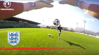 Handling Drills - Goalkeeper's Point of View   Inside Training